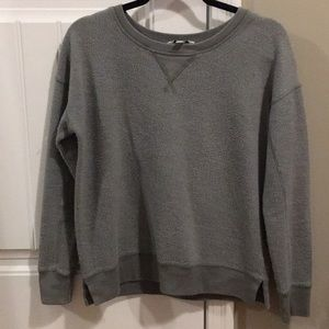 An army green American eagle outfitters sweater